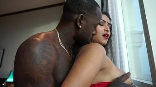 indian xxx porn sex video Desi bhabi and Wild African Man big cock
