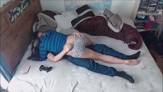 Pakistan xnxx couple in London hostel xxx fucking with audio