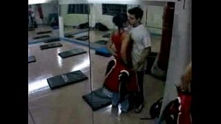 xnxx indian homemade daring women has sex with trainer in the gym