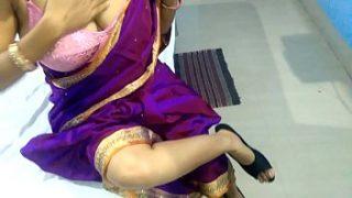 Telugu aunty xnxx Suck My Dick in Hotel Doggy Style Fucking In Saree