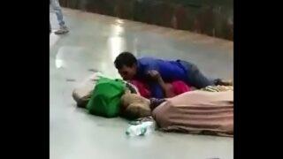 indian amateur couple having xxx sex in public palace