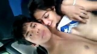 Indian xnxx Young Couple xxx hot Sex in Car