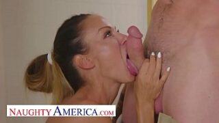 McKenzie Lee Fucked by her plumber Naughty America XNXX Video