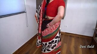 Real Indian maid fucked by house owner big black cock