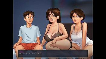 Big boobs mom and lucky son xnxx cartoon porn video